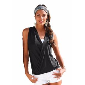 Crop Top Blusas Camiseta Sexy Espalda Dama Moda 41