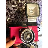 Camara Fotos Diana F+ (mr. Pink) + Flash + Adaptador A 35 Mm