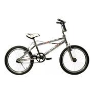Bicicleta Bmx Peretti Extreme Ii R20fluo Cromo 48rayos+linga