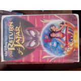 Vhs Disney Aladino El Retorno De Jaffar En Ingles.