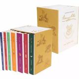 Livro Box Harry Potter 7 Livros Edição Limitada Capa Branca