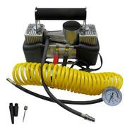 Compresor 12v Aire Metal 2 Piston Servicio Pesado Auto 4x4