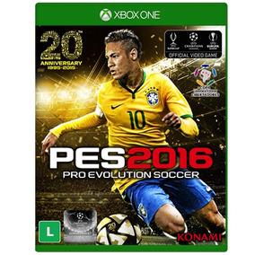 Pro Evolution Soccer 2016 - Pes 16 - Xbox One Fisica Saldão