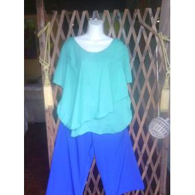 Ropa Conjunto Blusa Pantalon Talla L