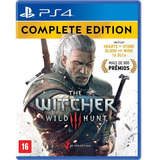 The Witcher 3 The Complete Edition Ps4 - Fisico - Nextgames