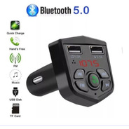 Transmisor Fm Bluetooth 5.0/ 3,1 A / 2x Usb