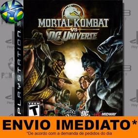 Mortal Kombat Vs Dc Universe - Ps3 - Código Psn - Promoção !
