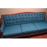 Sillón Vintage Color Azul Turquesa Está Como Nuevo