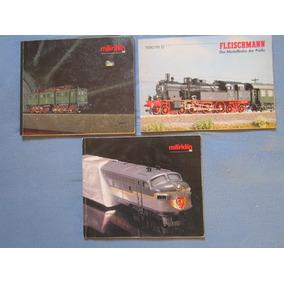 3 Lindos Catalogos Alemaes De 1991 De Ferromodelismo