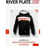 Buzo River Plate Oficial. Bandera