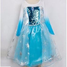 Disfraz Elsa 1 Frozen Elsa Tallas 3 Y 8 Anna Fever Vestido