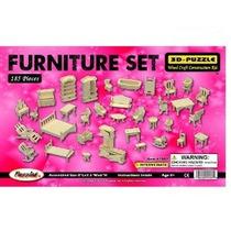 Dollhouse De Muebles De Madera 3d Puzzle