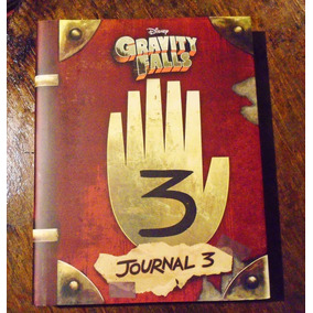 Diario 3 Libro Gravity Falls [ Journal 3 ] Envío Gratis*