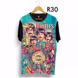 Camiseta The Beatles Total Print Ydias