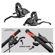 Passador Alavanca Marchas Rapid Fire Gts 3x8 21v Bike