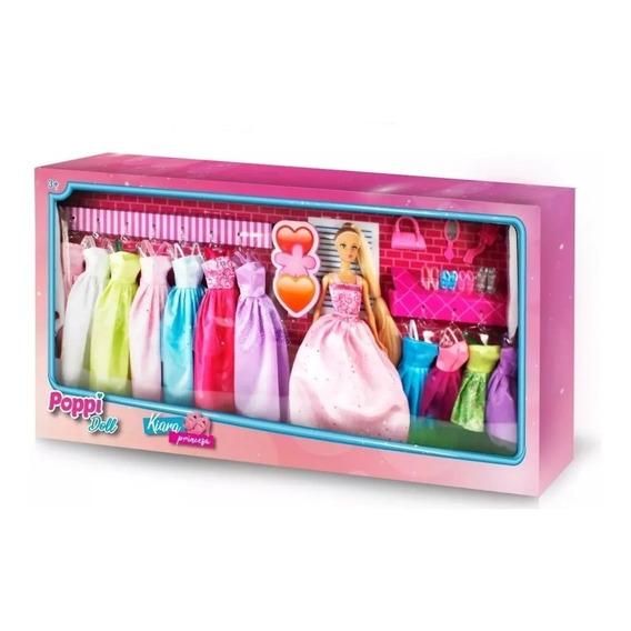 Mu?eca Kiara Princesa C/accesorios Vestidos Nenas Juego