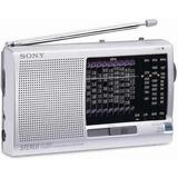 Radio Sony Multi-banda Analógico Icf-sw11 12 Bandas Original