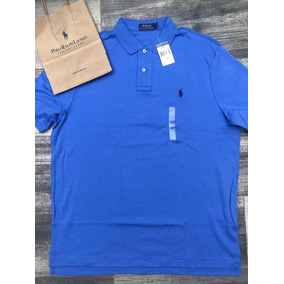 Playera Polo Ralph Lauren Azul Original Moda Regalo 3e32feae5bb22