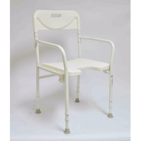Cadeira Banco De Banho Dobrável Idosos E Deficiente