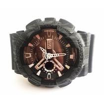 Relógio G Shock Automático Wr20 Militar Box Original