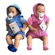 Bebotes Reales - Bebes Reborn - Bebote Con Crocs Y Chupete