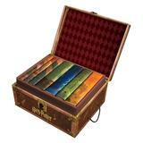 Box Harry Potter Completo Capa Dura Importado + Brindes