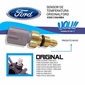 Plug Sensor Temperatura Água Fiesta 2003 Ford Original