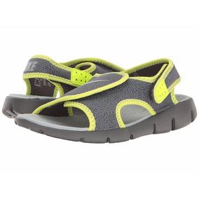 Sandalias Nike Sunray Adjust Nena Nene Talles 34 Y 35