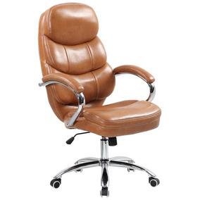 Cadeira Presidente Quebec Marrom