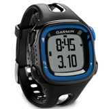 Reloj Gps Garmin Forerunner 15 Fr15 Negro Con Azul Mexx