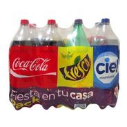 Refresco Coca Cola Fiesta Pack Surtidos 8 Pzas De 2 L