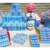 Mesa De Golosinas Personalizadas Para 10 Niños! Candy Bar!!!