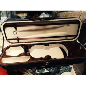 Estojo Case Violino Com Higrometro Luxo