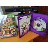 Kinet Xbox 360 Con 2 Juegos Envio Gratis.