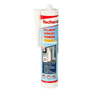 Sellador Acrílico Premium Pintable  310ml   Fischer Blanco