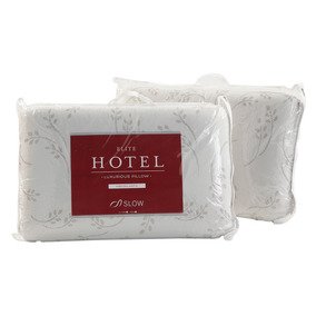 Almohadas Elite Hotel Visco Standard Set X2 Sommiercenter