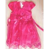 Vestido Organza Cris P Princesa Para Nena Talle Ver Medidas