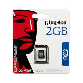 Kingston Microsd De 2 Gb De Memoria Flash Tarjeta Sdc / 2gbs