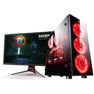 Pc Gamer Completa Ryzen 5 3400g Ram 8gb  Juga Fornite Pubg