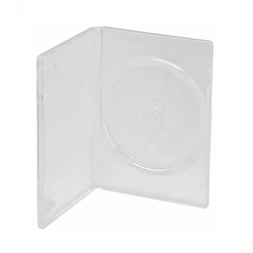 100 Estojo Dvd Box Amaray Transparente -máximo 100 Por Envio