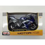 Motocicleta Suzuki Gsx-r750 Marca Maisto Escala 1:12