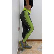 Leggins Gym Yoga Importado Original Marca Brenda Tela Gruesa