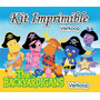 Kit Imprimible Los Backyardigans + Candy Bar Fiesta