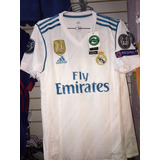 Camiseta Del Real Madrid Versión Jugador Ronaldo + Champions