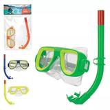 52172bb07e3e6 Touca E Oculos De Mergulho Infantil - Kits de Mergulho no Mercado ...