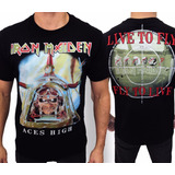 Camiseta Consulado Do Rock E510 Iron Maiden Camisa