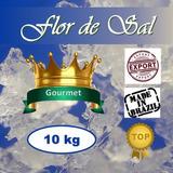 Sal - Flor De Sal Gourmet 4 Baldes - 10 Kilos Frete Grátis