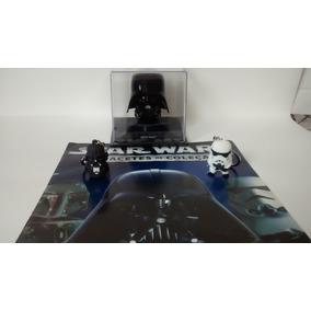 Capacete De Coleção Star Wars Darth Vader + Chaveiros