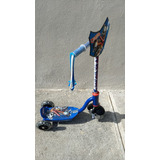 Scooter / Patin Del Diablo Hot Wheels