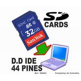 Adaptador Ide 44 Pin A Sd Card Ssd Computoys Qsda04q Zsda04